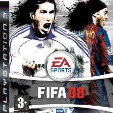 Videojuegos y Consolas: LOTE OFERTA JUEGO PLAYSTATION 3 - FIFA 08 - PS3 - MUY NUEVO Y CON MANUAL. Lote 29273253