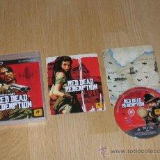 Videojuegos y Consolas: RED DEAD REDEMPTION COMPLETO PLAYSTATION 3 PAL ESPAÑA CASTELLANO. Lote 29310301