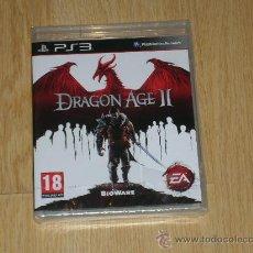 Videojuegos y Consolas: DRAGON AGE II COMPLETO PLAYSTATION 3 PAL ESPAÑA CASTELLANO ROL NUEVO PRECINTADO. Lote 29676708