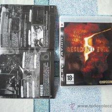 Videojuegos y Consolas: RESIDENT EVIL 5 - (CARATULA Y MANUAL EN CASTELLANO) - USADO UNA SOLA VEZ.. Lote 210795951