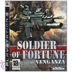 Videojuegos y Consolas: PS3 SOLDIER OF FORTUNE VENGANZA. Lote 32124011