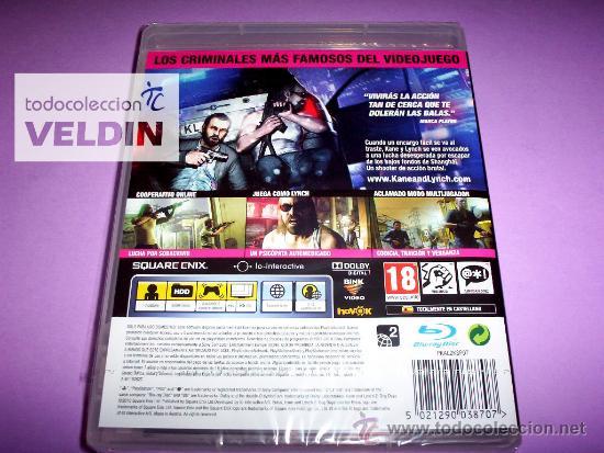 Videojuegos y Consolas: KANE & LYNCH 2 DOG DAYS NUEVO PRECINTADO PAL ESPAÑA PLAYSTATION 3 PS3 - Foto 2 - 29692589
