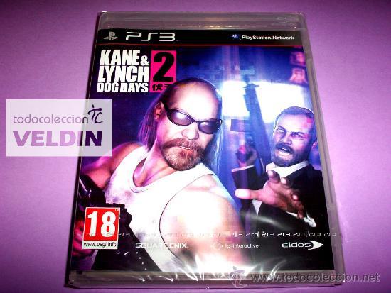 KANE & LYNCH 2 DOG DAYS NUEVO PRECINTADO PAL ESPAÑA PLAYSTATION 3 PS3 (Juguetes - Videojuegos y Consolas - Sony - PS3)