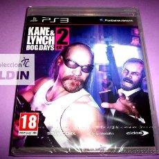 Videojuegos y Consolas: KANE & LYNCH 2 DOG DAYS NUEVO PRECINTADO PAL ESPAÑA PLAYSTATION 3 PS3. Lote 29692589