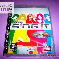 Videojuegos y Consolas: DISNEY SING IT NUEVO PRECINTADO PAL ESPAÑA PLAYSTATION 3 PS3. Lote 24410393