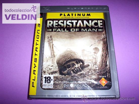 RESISTANCE FALL OF MAN NUEVO PRECINTADO PS3 (Juguetes - Videojuegos y Consolas - Sony - PS3)