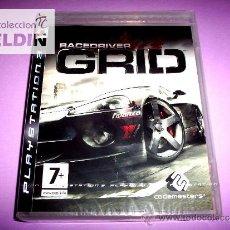 Videojuegos y Consolas: RACE DRIVER GRID NUEVO PRECINTADO PAL ESPAÑA PLAYSTATION 3 PS3. Lote 29934329
