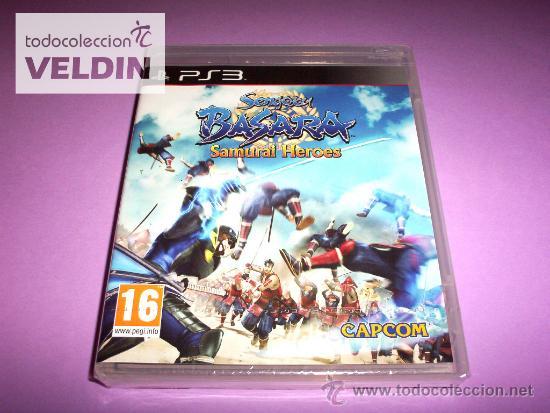 SENGOKU BASARA SAMURAI HEROES NUEVO PRECINTADO PLAYSTATION 3 PS3 (Juguetes - Videojuegos y Consolas - Sony - PS3)