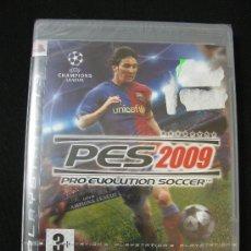 Videojuegos y Consolas: PLAYSTATION 3 - PRO EVOLUTION SOCCER 2009 -- NUEVO A ESTRENAR --. Lote 32416346