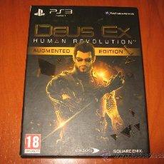 Videogiochi e Consoli: DEUS EX HUMAN REVOLUTION AUGMENTED EDITION EDICION ESPECIAL PS3 PAL ESPAÑA / EIDOS SQUARE ENIX. Lote 32555968