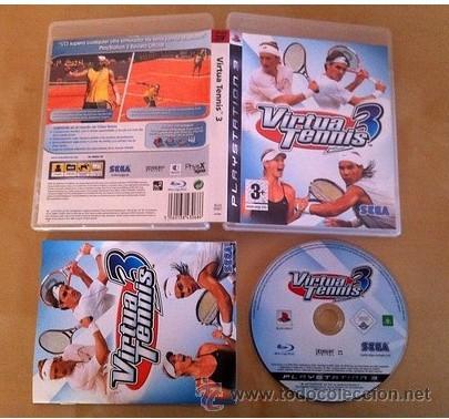 VIRTUA TENNIS 3 PS3 SONY PLAYSTATION 3 (Juguetes - Videojuegos y Consolas - Sony - PS3)