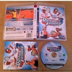 Videojuegos y Consolas: VIRTUA TENNIS 3 PS3 SONY PLAYSTATION 3. Lote 32563387