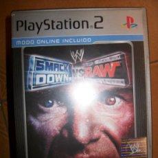 Videojuegos y Consolas: SMACKDOWN VS RAW . PAL ESPAÑA - PLAYSTATION 2 Ó 3 - PS2 PS3 - CON MANUAL - PLATINUM. Lote 41785218