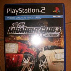 Videojuegos y Consolas: MIDNIGHT CLUB 3 DUB EDITION . PAL ESPAÑA - PLAYSTATION 2 Ó 3 - PS2 PS3 - CON MANUAL. Lote 32704937