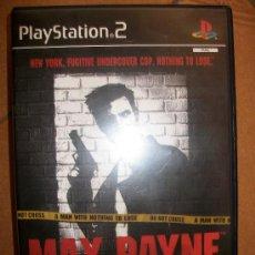 Videojuegos y Consolas: MAX PAYNE . PAL ESPAÑA - PLAYSTATION 2 Ó 3 - PS2 PS3 - CON MANUAL. Lote 32704953