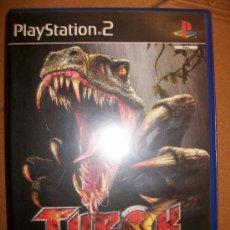 Videojuegos y Consolas: TUROK EVOLUTION - PLAYSTATION 2 O 3 - PS2 PS3 - CON MANUAL. Lote 32704956