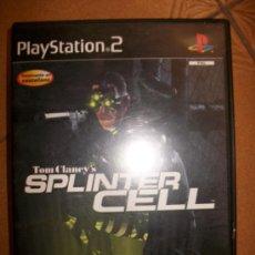 Videojuegos y Consolas: SPLINTER CELL . PAL ESPAÑA - PLAYSTATION 2 Ó 3 - PS2 PS3 - CON MANUAL. Lote 32704979