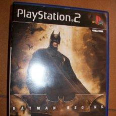 Videojuegos y Consolas: BATMAN BEGINS . PAL ESPAÑA - PLAYSTATION 2 Ó 3 - PS2 PS3 - CON MANUAL. Lote 44652972