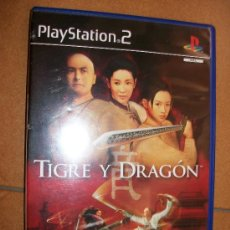 Videojuegos y Consolas: TIGRE Y DRAGON . PAL ESPAÑA - PLAYSTATION 2 Ó 3 - PS2 PS3. CON MANUAL. Lote 32705019
