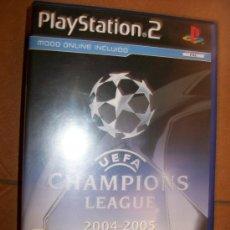 Videojuegos y Consolas: UEFA CHAMPIONS LEAGUE 2004 2005 - PLAYSTATION 2 O 3 - PS2 PS3 - CON MANUAL. Lote 32705027