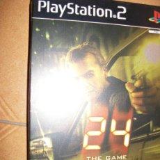 Videojuegos y Consolas: 24 THE GAME EDICION CAJA METALICA . PAL ESPAÑA - PLAYSTATION 2 Ó 3 - PS2 PS3 - CON MANUAL. Lote 32705031