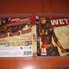 Videogiochi e Consoli: WET PARA PS3 PAL ESPAÑA COMPLETO / BETHESDA. Lote 32915448