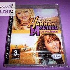 Videojuegos y Consolas: HANNAH MONTANA LA PELÍCULA NUEVO PRECINTADO PAL ESPAÑA PLAYSTATION 3 PS3. Lote 33427044
