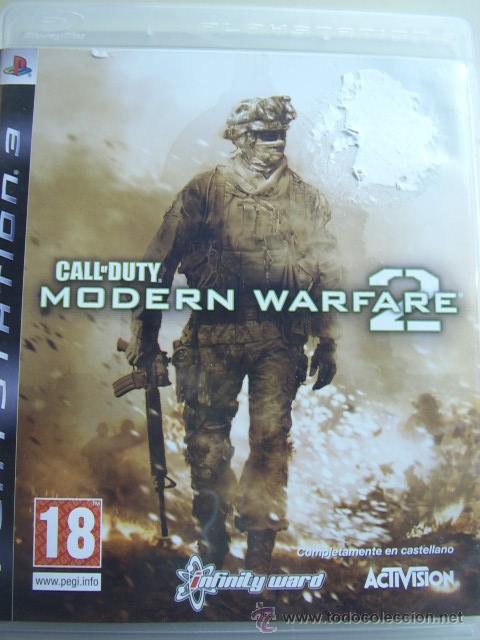 CALL OF DUTY MODERN WARFARE 2 / JUEGO ORIGINAL PS3 / (Juguetes - Videojuegos y Consolas - Sony - PS3)