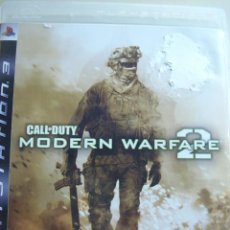 Videojuegos y Consolas: CALL OF DUTY MODERN WARFARE 2 / JUEGO ORIGINAL PS3 / . Lote 33495897