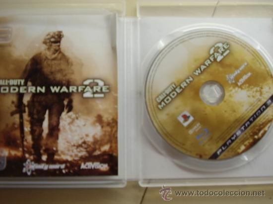Videojuegos y Consolas: CALL OF DUTY MODERN WARFARE 2 / JUEGO ORIGINAL PS3 / - Foto 2 - 33495897