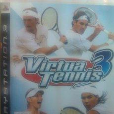 Videojuegos y Consolas: VIRTUA TENNIS 3 PARA PLAYSTATION 3 / SIMULADOR DE TENIS. Lote 33505598