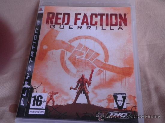 PS3 RED FACTION GUERRILLLA (Juguetes - Videojuegos y Consolas - Sony - PS3)