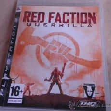 Videojuegos y Consolas: PS3 RED FACTION GUERRILLLA. Lote 33671656