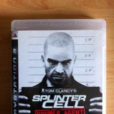 Videojuegos y Consolas: SPLINTER CELL DOUBLE AGENT - TOM CLANCY´S - JUEGO PS3. Lote 34122003
