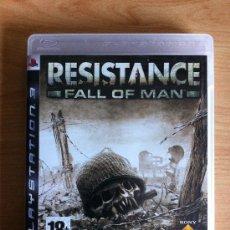 Videojuegos y Consolas: RESISTENCE FALL OF MAN - JUEGO PS3 - INSOMNIAC. Lote 34145223