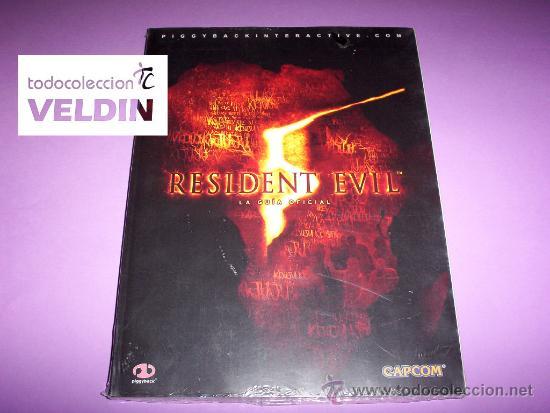 GUÍA OFICIAL RESIDENT EVIL 5 NUEVA PRECINTADA (Juguetes - Videojuegos y Consolas - Sony - PS3)