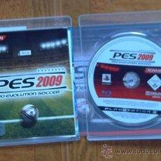 Videojuegos y Consolas: JUEGO PARA PLAYSTATION 3: PES 2009 (PRO EVOLUTION SOCCER) - KONAMI. Lote 35239805