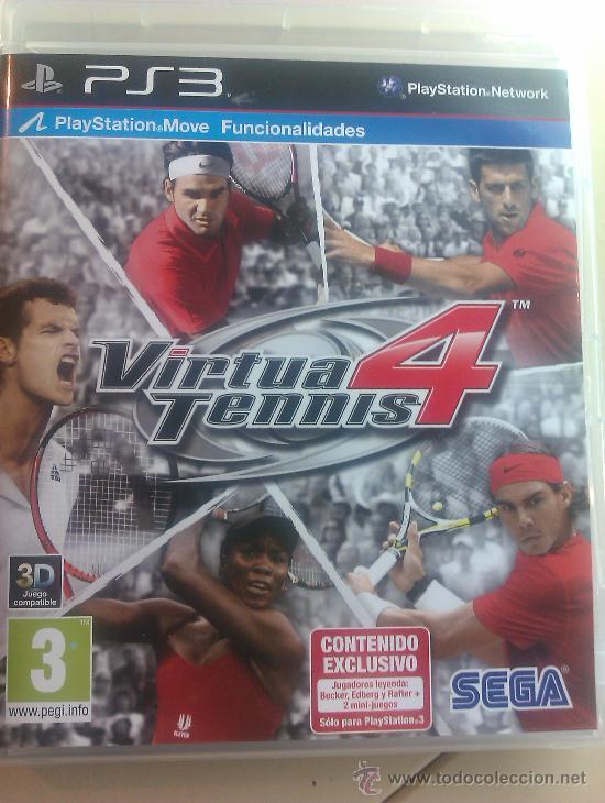 JUEGO ORIGINAL PARA PS3 / VIRTUA TENNIS 4 / SEMINUEVO (Juguetes - Videojuegos y Consolas - Sony - PS3)