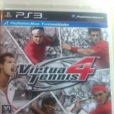 Videojuegos y Consolas: JUEGO ORIGINAL PARA PS3 / VIRTUA TENNIS 4 / SEMINUEVO. Lote 35725166