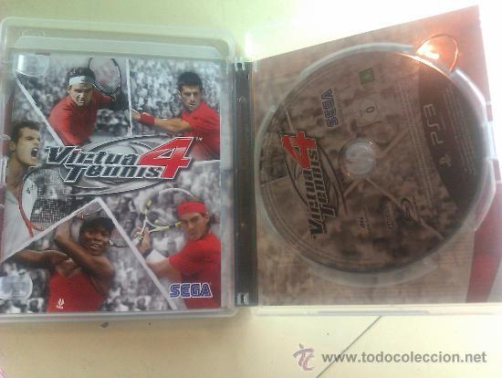 Videojuegos y Consolas: JUEGO ORIGINAL PARA PS3 / VIRTUA TENNIS 4 / SEMINUEVO - Foto 3 - 35725166