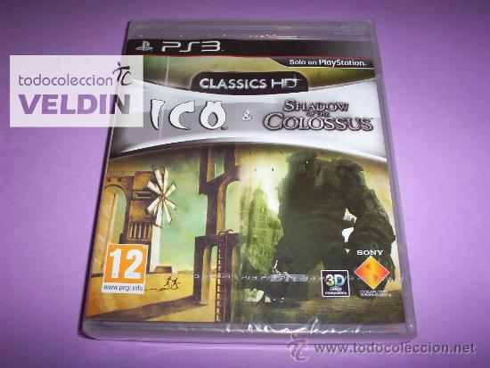 ICO & SHADOW OF THE COLOSSUS CLASSICS HD NUEVO PRECINTADO PAL ESPAÑA PLAYSTATION 3 PS3 (Juguetes - Videojuegos y Consolas - Sony - PS3)