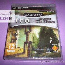 Videojuegos y Consolas: ICO & SHADOW OF THE COLOSSUS CLASSICS HD NUEVO PRECINTADO PAL ESPAÑA PLAYSTATION 3 PS3. Lote 35930327