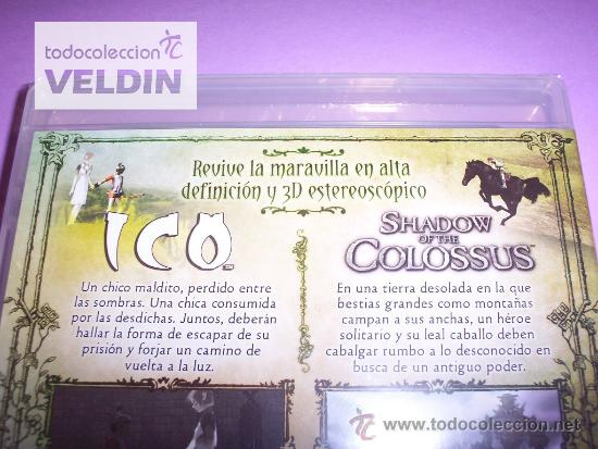 Videojuegos y Consolas: ICO & SHADOW OF THE COLOSSUS CLASSICS HD NUEVO PRECINTADO PAL ESPAÑA PLAYSTATION 3 PS3 - Foto 3 - 35930327