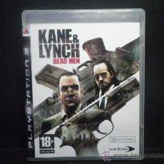 Videojuegos y Consolas: PS3 KANE & LYNCH. Lote 36321698