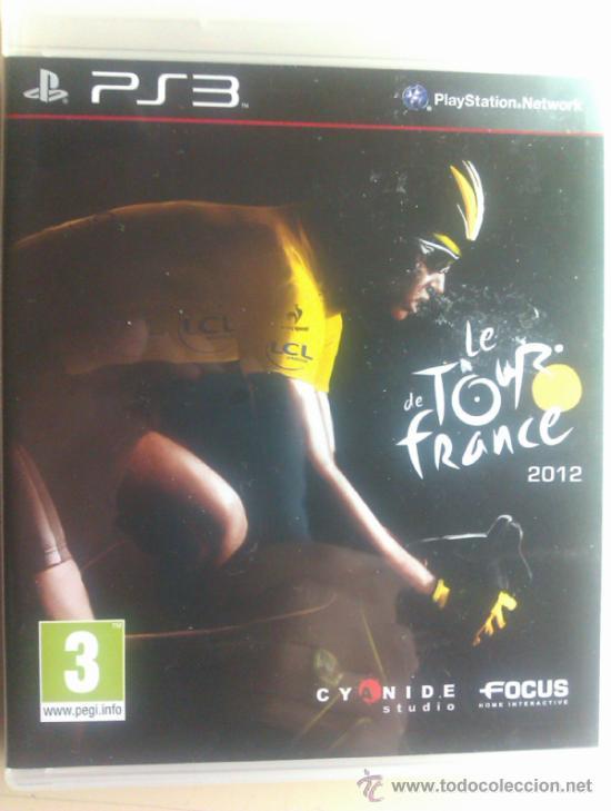 LE TOUR DE FRANCE 2012 / JUEGO ORIGINAL PARA PS3 / (Juguetes - Videojuegos y Consolas - Sony - PS3)