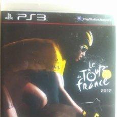 Videojuegos y Consolas: LE TOUR DE FRANCE 2012 / JUEGO ORIGINAL PARA PS3 /. Lote 36689386