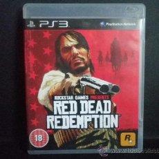 Videojuegos y Consolas: RED DEAD REDEMPTION - PS3- PLAYSTATION 3. Lote 36910169