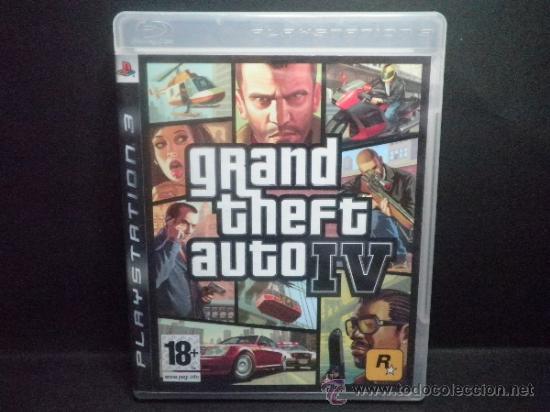 GRAND THEFT AUTO IV - PS3 - PLAYSTATION 3 (Juguetes - Videojuegos y Consolas - Sony - PS3)