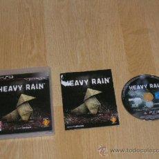 Videojuegos y Consolas: HEAVY RAIN COMPLETO PLAYSTATION 3 PAL ESPAÑA CASTELLANO. Lote 37439095