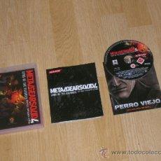 Videojuegos y Consolas: METAL GEAR SOLID 4 COMPLETO PLAYSTATION 3 PAL ESPAÑA CASTELLANO COMO NUEVO. Lote 37569949